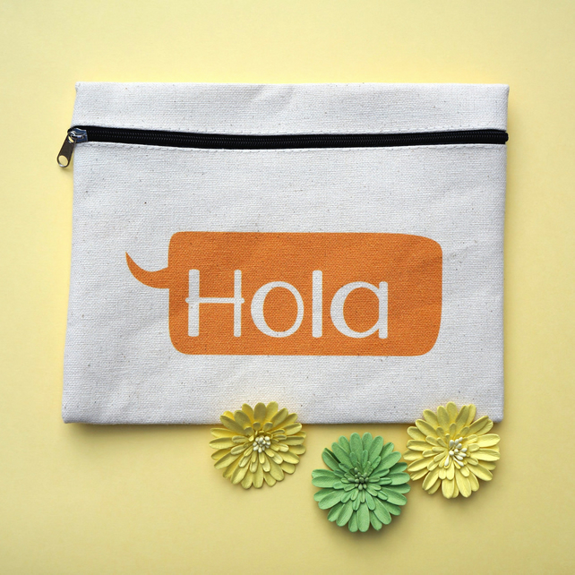 Hola Travel Zip Pouch