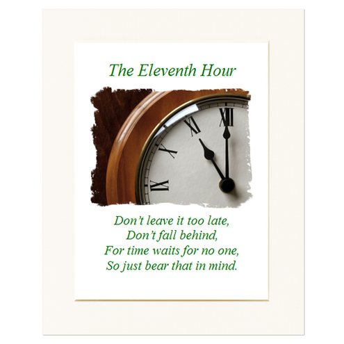 The Eleventh Hour (with verse)