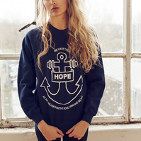 Hope Anchor Sweater