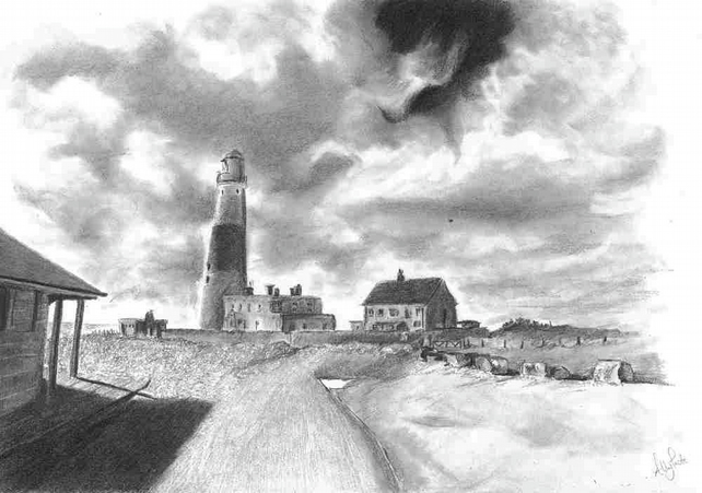 Art Limited Edition Print Portland Bill Light House