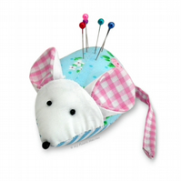 Cute Mouse Pin Cushion Paper Sewing Pattern & Full Instructions.