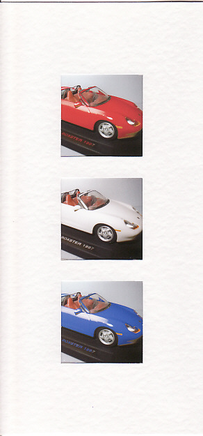 SALE - Porsche Car Images  - Greetings Card or Notelet -  Photo Prints
