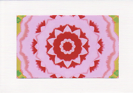 SALE - Kaleidoscope Image 6  - Greetings Card or Notelet -  Photo Print