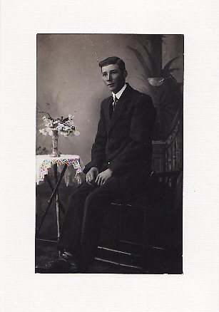 SALE - Well Suited Image - Greetings Card or Notelet - Old Photo Print