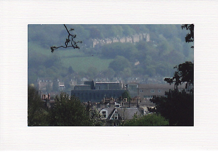 SALE - A View of Bath Image - Greetings Card or Notelet - Scenic Photo Print