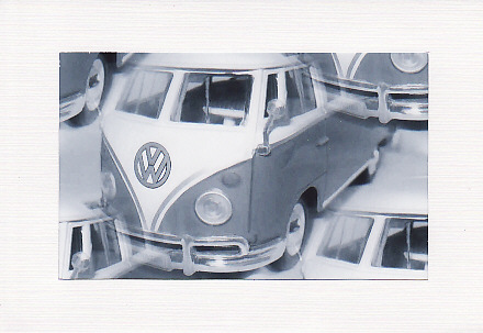 SALE - Campervan Image - Greetings Card  - Male Photo Print