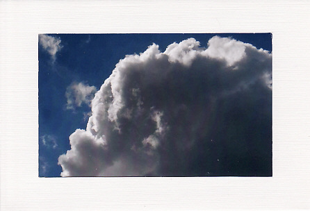 SALE - Clouds Image 2  - Greetings Card Or Notelet -Scenic Photo Print