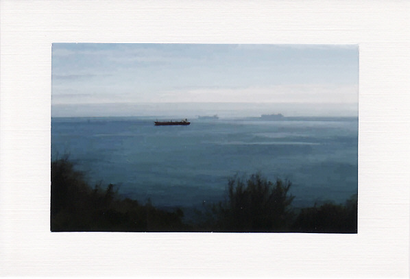 SALE - SHIPS AT SEA Image - Greetings Card or Notelet - Scenic Photo Print
