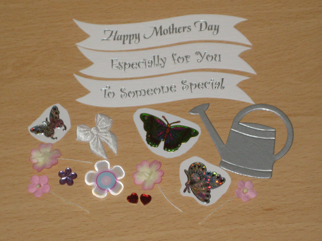 CLEARANCE -- Craft Supplies Embellishment Bundle Female MOTHER'S DAY etc