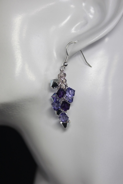 SALE: Tanzanite Cascade Earrings