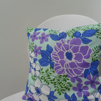 Vintage 1970s Winfield fabric cushion cover