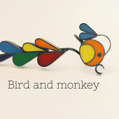 Bird and Monkey