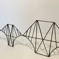 The Forth bridge a handmade freestanding sculpture