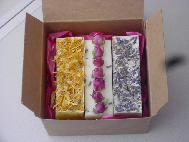 Beautiful Shea Butter Soap Gift Box