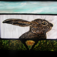 The Spring Hare - Stained Glass