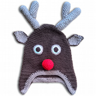 Crochet Animal Winter Hats - Small