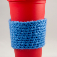 Travel Mug with Crochet Cosy