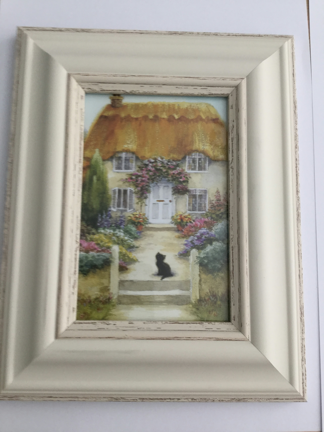 Cottage Framed Picture