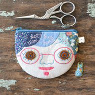 Lets Buy Some Books Personalised Coin Purse, Card Wallet - Made to Order