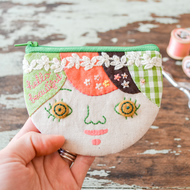 Hello Beautiful Personalised Coin Purse, Card Case, Mini Wallet - Gift for Girl