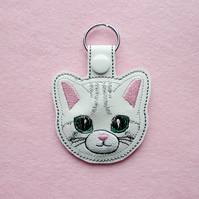 Cat key ring.