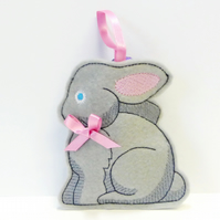 Bunny treat bag, gift bag. Reduced
