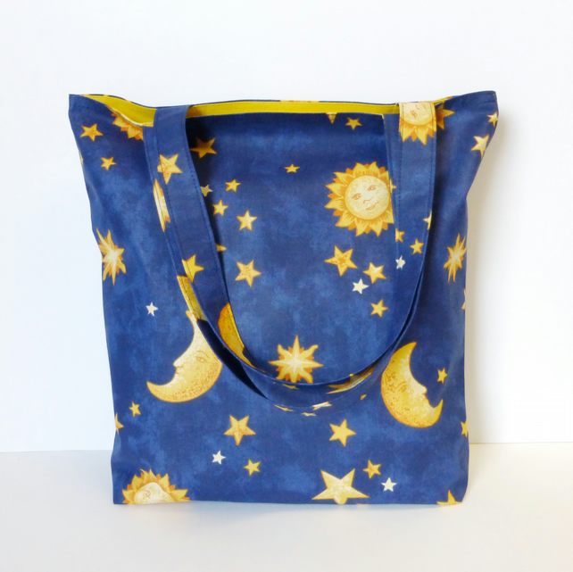 Stars and Moons Tote bag, shopping bag. Special Offer