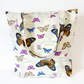 Tote Bag, beach bag, butterflies.