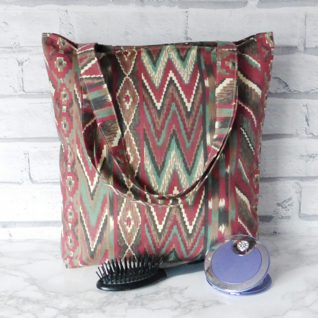 Abstract Tote bag, shopping bag. Special purchase