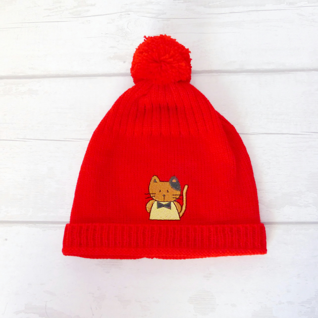 SALE Knitted hat. Toddler.