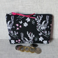 Zipped coin purse, large