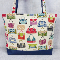 Tote bag, handbag design
