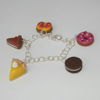 RESERVED for Accidentalvix - Naughty but nice charm bracelet