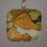 L'ermitage Glass Pendant