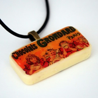 Chocolat Grondard Domino Necklace