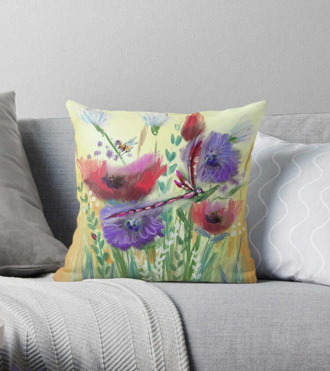 Meadow Lane CUSHION COVER ONLY