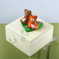 Fox Box, Half Price Little Trinket Box
