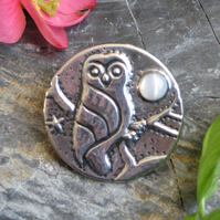 Little Owl Brooch