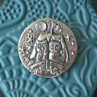 The Owl and the Pussycat Brooch