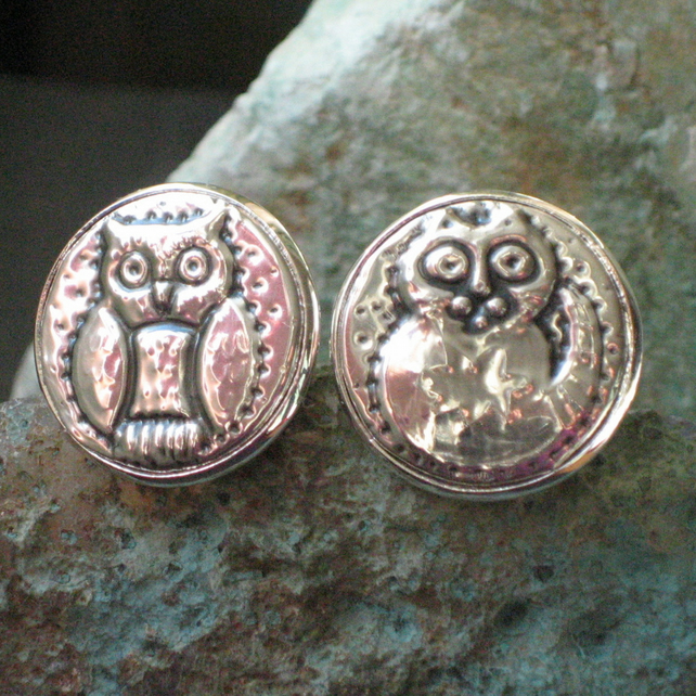 The Owl and the Pussycat Wedding Cufflinks