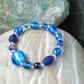 Bracelet in Blue Glass