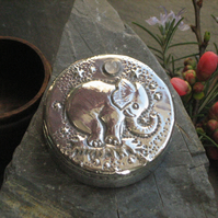 Baby Elephant Trinket Box