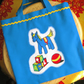 Child's Tote Bag, Toy Horse Design