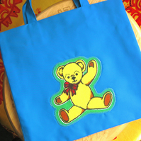 Child's Teddy Tote Bag for a Boy or Girl