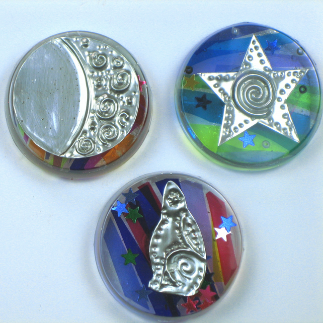 Sale! Magnets Gift Set, Moon Gazing Hare