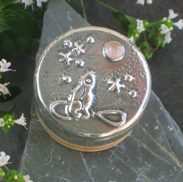 Jewellery Box, Moon Gazing Hare Design