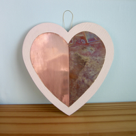 Copper Hanging Heart