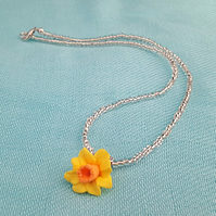 Daffodil necklace - 1002125