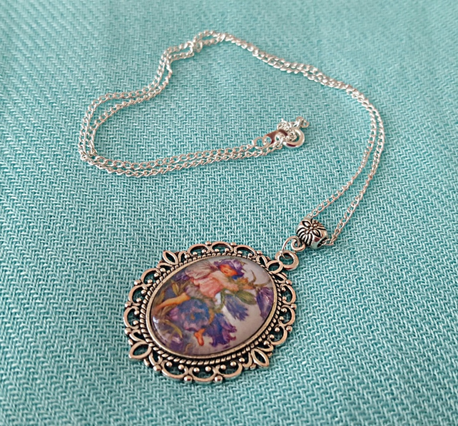 Flower Fairies necklace - Canterbury Bells