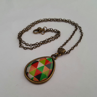Harlequin necklace